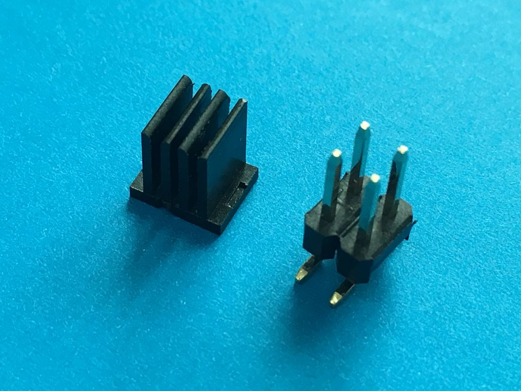 Straight RF 2.54mm Pitch Wafer PCB Board Electrical Connector With Double Row Male Female